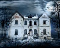Spökat hus Royaltyfria Foton