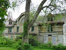 spökat hus Arkivfoto
