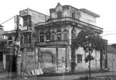 Spökat hus I Hanoi royaltyfria foton