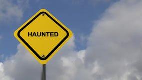 Spökat tecken lager videofilmer