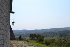 Spöke för Ukraina Lviv slottgåta arkivfoto
