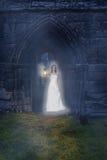 Spöke på abbotskloster Arkivbilder