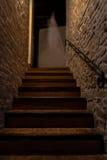 Spöke på trappan Arkivbild