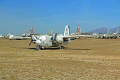 Spöke Rider Bomber Plane i Pima luft och utrymmemuseum Arkivbilder