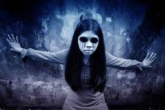 Spökeflicka fotografering för bildbyråer