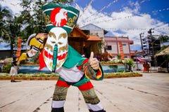 SpökemaskeringsThailand festival royaltyfri foto