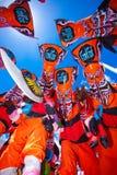 SpökemaskeringsThailand festival royaltyfria bilder