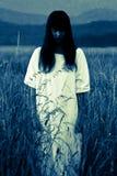 Spöken av en kvinna royaltyfria foton