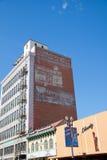 Spöken undertecknar i Long Beach Fotografering för Bildbyråer