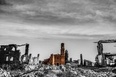 Spökestaden Arkivfoto