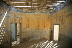 Spökestaden i Kolmanskop Royaltyfria Bilder