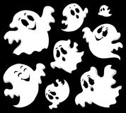 Spöketemabild 1 Arkivbilder