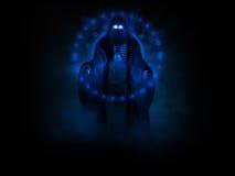 spökevålnad Fotografering för Bildbyråer