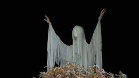Spöklik allhelgonaaftonanderesning royaltyfri fotografi