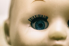 Spöklik docka för fasa Arkivfoto