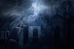 Spöklik galande vektor illustrationer