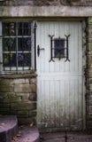 Spöklik gammal dörr Royaltyfria Foton
