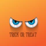 Spöklik halloween bakgrund royaltyfri illustrationer