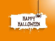 Spöklik halloween bakgrund stock illustrationer