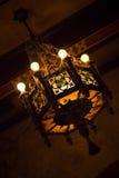Spöklik lampa Arkivfoton