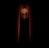 spöklik stående Royaltyfria Bilder