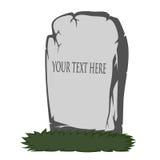 spöklik tombstone Royaltyfria Bilder