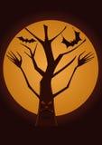 spöklik tree Arkivfoton