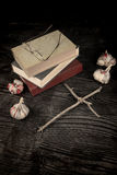 Spöklika romaner royaltyfri foto
