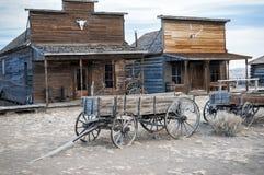 Spökstad Cody, Wyoming, United States royaltyfria foton