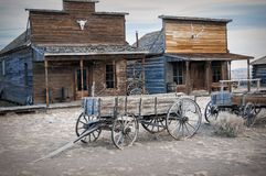 Spökstad Cody, Wyoming, United States Arkivfoto