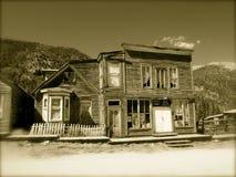 Spökstad i Colorado Royaltyfria Foton