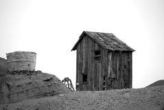Spökstad i Kalifornien royaltyfri fotografi