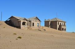 Spökstad Kolmanskop, Namibia Royaltyfri Fotografi