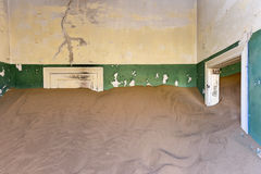 Spökstad Kolmanskop, Namibia Royaltyfria Foton
