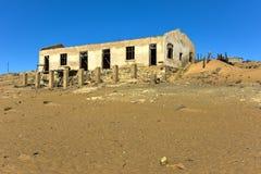 Spökstad Kolmanskop, Namibia Arkivfoton