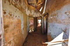 Spökstad Kolmanskop, Namibia Arkivbild