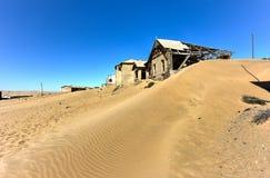 Spökstad Kolmanskop, Namibia Royaltyfri Bild