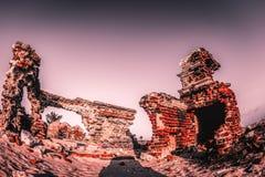 Spökstad - Rameshwaram, Indien arkivfoton