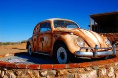 Spökstad Silverton, New South Wales, Australien Arkivbild