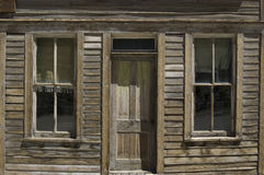 Spökstad som hem överges Arkivbilder