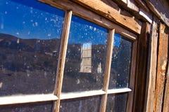 Spökstadfönster diagonal sikt Royaltyfria Foton