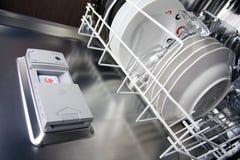 Spülmaschine Stockfoto