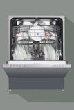 spülmaschine Stockfotografie
