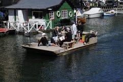 Spławowa łódź Obrazy Royalty Free