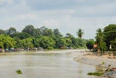 Spławowa wioska rybacka Zdjęcie Stock