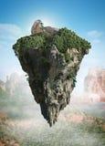 spławowa wyspa Fotografia Stock
