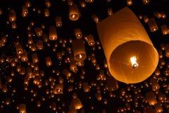 Spławowy lampion obraz stock