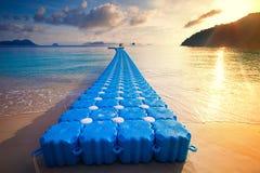 Spławowy molo nyang oo phee wyspa najwięcej popularnego podróżnego des obrazy stock