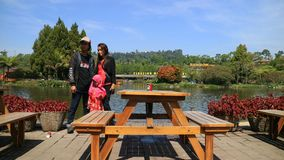 Spławowy Targowy Lembang obrazy royalty free