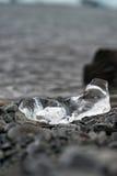 spławowa lodowa góra lodowa jokulsarlon laguna Lód na brzeg Obrazy Stock